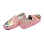 Tênis Rosa Arco-Íris Glitter Infantil Gats - 1121