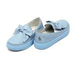 Tênis Slip On Laço Azul Infantil Gats