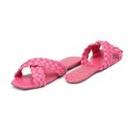 Flat Trançado Rosa Pink Infantil Gats - 8006
