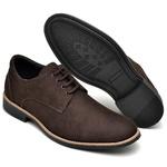 Sapato Social Masculino Esporte Fino Marrom