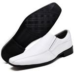 Sapato Social Masculino Esporte Fino Branco