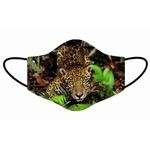 Kit 4 Máscara Lavável Personalizada Estampa Animais Natureza Tecido Duplo