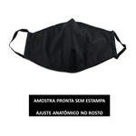Kit 4 Máscara Lavável Personalizada Kpop BTS Tecido Duplo