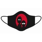 Kit 4 Máscara Lavável Personalizada Rick And Morth Tecido Duplo