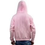 Moletom Masculino Bolso Canguru Com Capuz Rosa