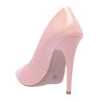 Sapato Feminino Scarpin Verniz Rosé