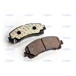 Pastilha do freio Dianteiro - Cobreq - N390 (S10, Trailblazer)