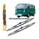 PALHETA PARA-BRISA DYNA DX16 GOL I/ SAVEIRO I / KOMB / BELINA / PAMPA