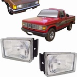 Farol Opala / Caravan 1980 A 1987 - D20 De 1985 A 1992 Lado direito ( Rcd )