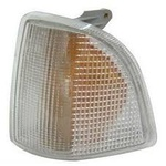 Lanterna Dianteira lado esquerdo Del Rey / Belina / Pampa 85 86 87 88 89 90 91 92 Cristal jcv ( modelo Cibié )<BR>