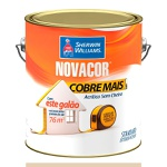 NOVACOR ACRÍLICO COBRE MAIS PÉROLA 3,6LTS