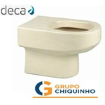 BACIA CONVENCIONAL CARRARA DECA (CREME)
