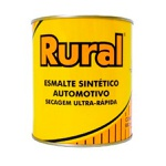 TINTA AUTOMOTIVA ESMALTE SINTETICO AMARELO CATERPILLAR RURAL 900 ML