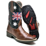 Bota Texana London Masculina Cano Longo 2500