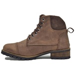 Boots Masculino Em Couro Coturno Cano Médio 788