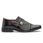 Sapato Social Masculino Freeport GuGi Preto Com Sola Antiderrapante 839-DB