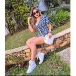 Sneaker Feminino Branco Botinha De Academia Cano Longo
