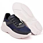 Tênis Dad Sneaker Feminino Azul Marinho Buffalo Casual Tckn02-mar