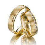 Aliança de Casamento em Ouro 18k