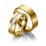 Aliança de Casamento com Diamantes Prince