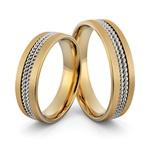 Aliança em Ouro 18k de Casamento e Noivado