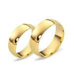 Aliança Clássica em Ouro 18k - 7,0 Milímetros