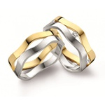 Aliança de Casamento e Bodas em Ouro 18k