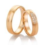 Aliança Cravejada com Diamantes em Ouro 18k