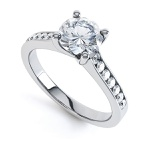 Solitário com Diamante de 50 Pontos