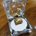 Anel em Ouro 18k Abaulado Fosco