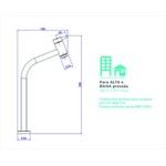 Torneira de mesa bica alta lavatório 1198.C.LNK – Deca