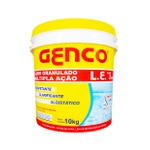 Balde Genco 3x1 Múltipla Ação - Cloro Granulado Clarificante 10kg