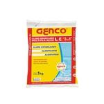 Genco 3x1 Múltipla Ação - Cloro Granulado Clarificante 1Kg