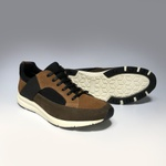 Sapato Masculino Jogger Ace Whind Caramelo