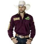 Camisa Country Masculina Radade Vinho