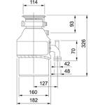 Triturador 3/4HP 127V (110V) - 13883
