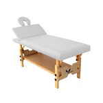 Maca de Massagem Fixa Bali Spa Reclinável e Regulagem de Altura - Salus
