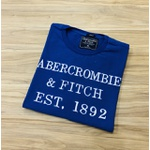 Camiseta Abercrombie & Fitch AZUL