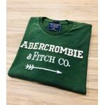 Camiseta Abercrombie & Fitch VERME./AMARE./VERDE
