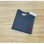 Camiseta Lacoste 3D Básica Chumbo