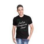 Camiseta ADRA Justiça Compaixão Amor
