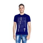 Camiseta Boas Coisas Azul Royal