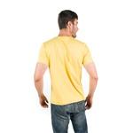 Camiseta Boas Coisas Amarelo