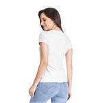 Camiseta Baby Look Boas Coisas Branco