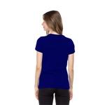 Camiseta Baby Look Boas Coisas Azul Royal