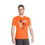 Camiseta Dry Fit Running For Jesus Laranja