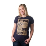 Camiseta Baby Look Trust in the Lord