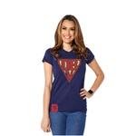 Camiseta Baby Look Super DBV