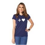 Camiseta Baby Look Mais Amor