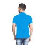 Polo Masculina Aventureiros Azul
